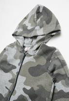 POP CANDY - Camo printed onesie - grey