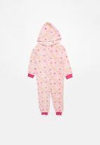 POP CANDY - Star printed onesie - pink