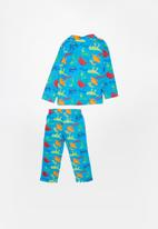 POP CANDY - Dinosaurs full flannel pyjama set - multi