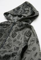 POP CANDY - Skull printed onesie - grey