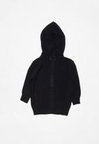 POP CANDY - Kids hooded cardigan - navy