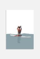Sarah Allderman - Evening surf