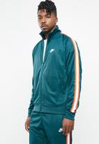 Nike - Nsw he jacket n98 tribute - green & white