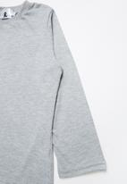 Rebel Republic - 2 Pack long sleeve top - grey & black