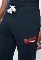 Jack & Jones - Summertime sweat pants -  navy