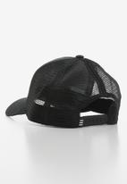 adidas Originals - Trefoil trucker peak cap - black