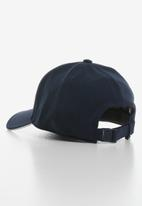 adidas Performance - C40 5panel  climalite cap - white & blue