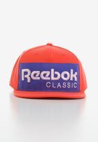 Reebok Classic - Classics foundation cap - orange & blue
