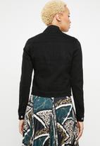Jacqueline de Yong - Denim jacket - black