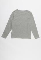 name it - Victor long sleeve top - grey