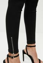 Missguided - Vice skinny jeans - black