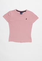 POLO - Classic short sleeve tee - pink