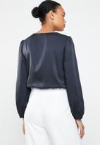 ONLY - Royal long sleeve bodysuit - navy