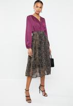 ONLY - Royal long sleeve bodysuit - purple
