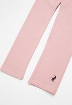 POLO - Victoria classic legging - pink