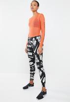 Nike - Baselayer bodysuit - orange & black