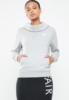 Nike - Fleece hoodie -  grey
