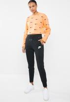 Nike - Air fleece crew - orange