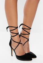 Public Desire - Stiletto heel - black