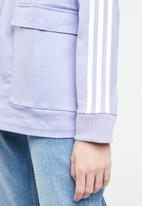 adidas Originals - 3 stripes pocket tracktop - purple