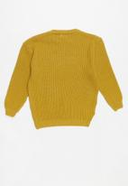 POP CANDY - Long sleeve knit - yellow