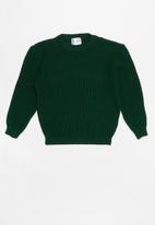 POP CANDY - Long sleeve knit - green