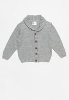 POP CANDY - Kids sweater with collar - grey