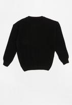 POP CANDY - Long sleeve knit - black