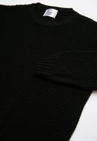 POP CANDY - Long sleeve knit - black