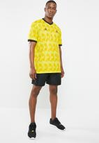 adidas Performance - Tango AOP jersey tee - yellow