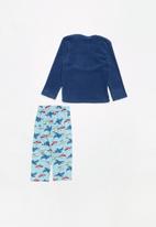 POP CANDY - Fleece and flannel pyjamas - blue