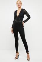 Sissy Boy - Bad sport bodysuit - black