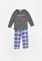POP CANDY - Fannel check pyjama set - multi