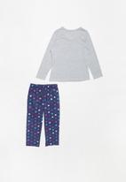 POP CANDY - Single jersey flannel xoxo - multi