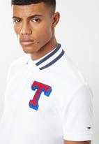 Tommy Hilfiger - Tjm college polo - white