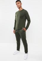 Brave Soul - Stein basic jogger - green