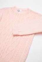 POP CANDY - Rib knit - pink