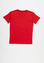 POLO - Classic short sleeve tee - red