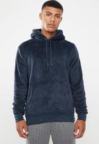 Brave Soul - Axel hooded sweatshirt - navy