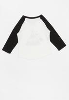 POP CANDY - Long sleeve printed tee - white