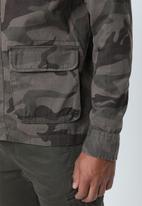 Brave Soul - Mutiny utility jacket - multi