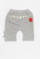 POP CANDY - Elasticated jogger - grey
