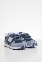 New Balance  - 574 Grade/pre velcro - blue & purple