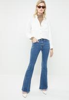 MANGO - Flare jeans - blue