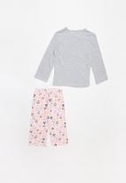 POP CANDY - Flannel pyjama set - grey