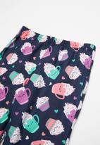 POP CANDY - Single jersey flannel cupcakes - multi