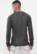 Brave Soul - Mata crew neck sweater - grey
