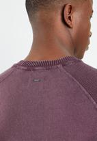 Only & Sons - Wincent mix knit pullover - pink