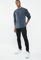 Only & Sons - Wincent mix knit pullover - navy