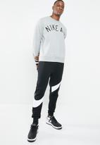 Nike - M NSW crew fleece sweat - grey